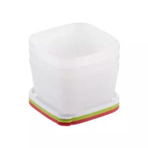 Contenedores saludables para congelador purity 0.5 l