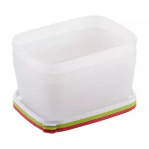 Contenedores saludables para el congelador purity 1.0 l